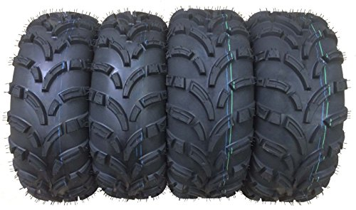 Set of 4 New WANDA ATVUTV Tires 25x8-12 Front 25x10-12 Rear 6PR P373 - 1024310244 …