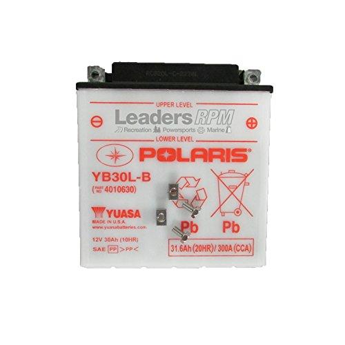Polaris New OEM ATV UTV Battery 30 Amp Top Mount Ranger Sportsman Frontier
