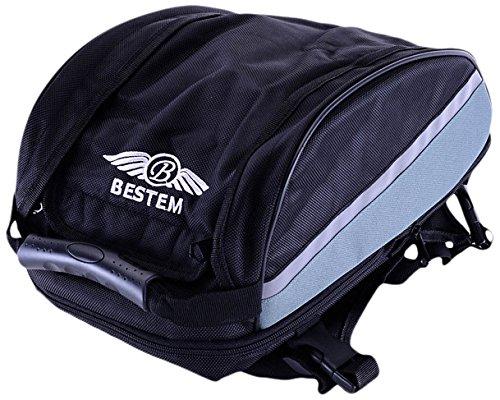 Bestem LGBE-UNIVE-BAG-E Universal Sportbike Expandable Seat Tail Bag