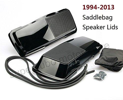6x9 road king Saddlebag Speaker Lid For Harley Touring saddlebag speak lids Street Glide Ultra 94-13
