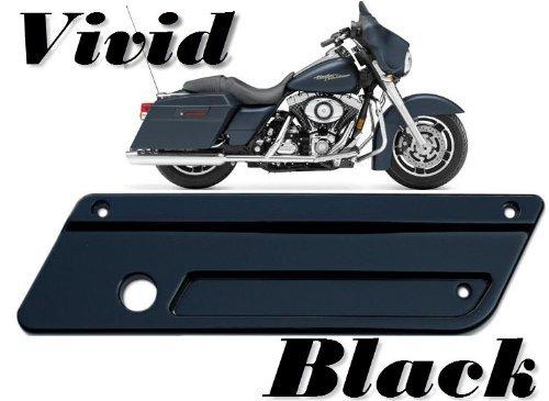 Latch Covers Vivid Gloss Black for Harley-Davidson Saddle Bags 1993-2013 Touring Saddlebags