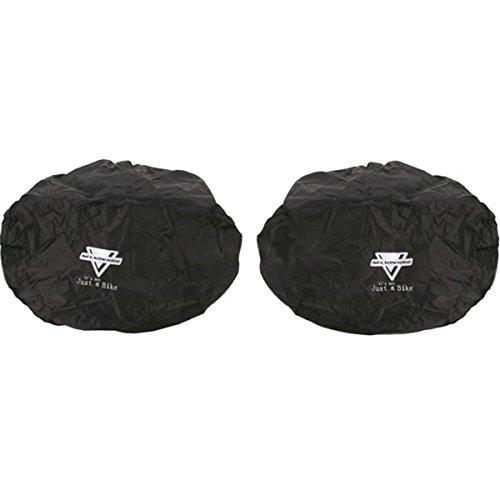 Nelson-Rigg Rain Covers for Spirit-50 Touring Saddlebags - Black