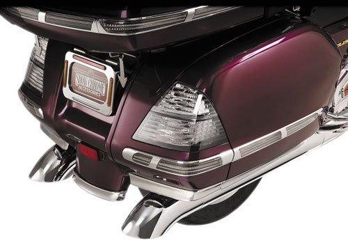 Show Chrome SADDLEBAG GRILLES GL1800 01-05 Dressup HONDA GOLDWING 01-05 - 52-745