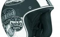 Vega-X-380-Open-Face-Helmet-With-Old-Skool-Graphic-flat-Black-monochrome-Large-5.jpg
