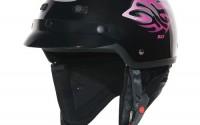 Custom-Bilt-Women-s-Raven-Motorcycle-Half-Helmet-Lg-Black-pink8.jpg