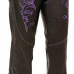 Milwaukee-Women-s-Leather-Chaps-black-purple-X-small-16.jpg