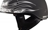 Gmax-Gm65-Skull-Flame-Naked-Half-Helmet-flat-Black-white-Small-14.jpg