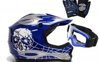 TMS-Youth-Kids-Blue-Silver-Punk-Dirt-Bike-Atv-Motocross-Helmet-Mx-goggles-gloves-Medium-10.jpg