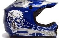 TMS-Youth-Kids-Blue-silver-Skull-Dirt-Bike-Motocross-Helmet-Mx-Medium-8.jpg