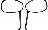 One-Pair-Black-Oval-Rear-View-Mirrors-for-1989-Kawasaki-454-LTD-EN450A-9.jpg