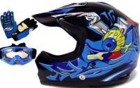 TMS-Youth-Kids-Black-Blue-Punk-Dirt-Bike-Atv-Motocross-Helmet-Mx-goggles-gloves-Large-21.jpg